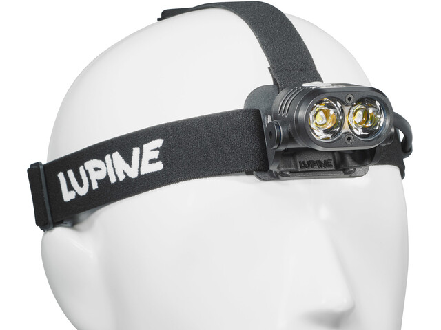 Lupine Piko RX Duo - Lampe frontale - noir
